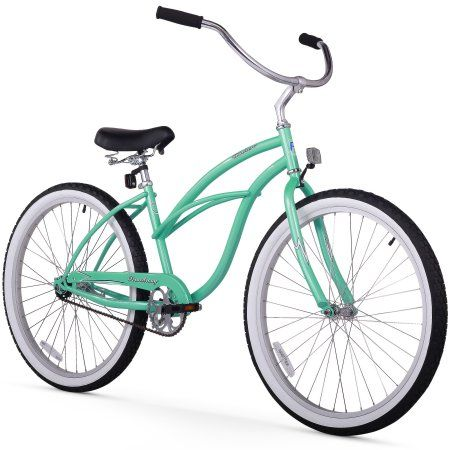 "26"" Firmstrong Urban Lady Single Speed Women's Beach Cruiser Bike, Baby Blue Image 1 of 18"