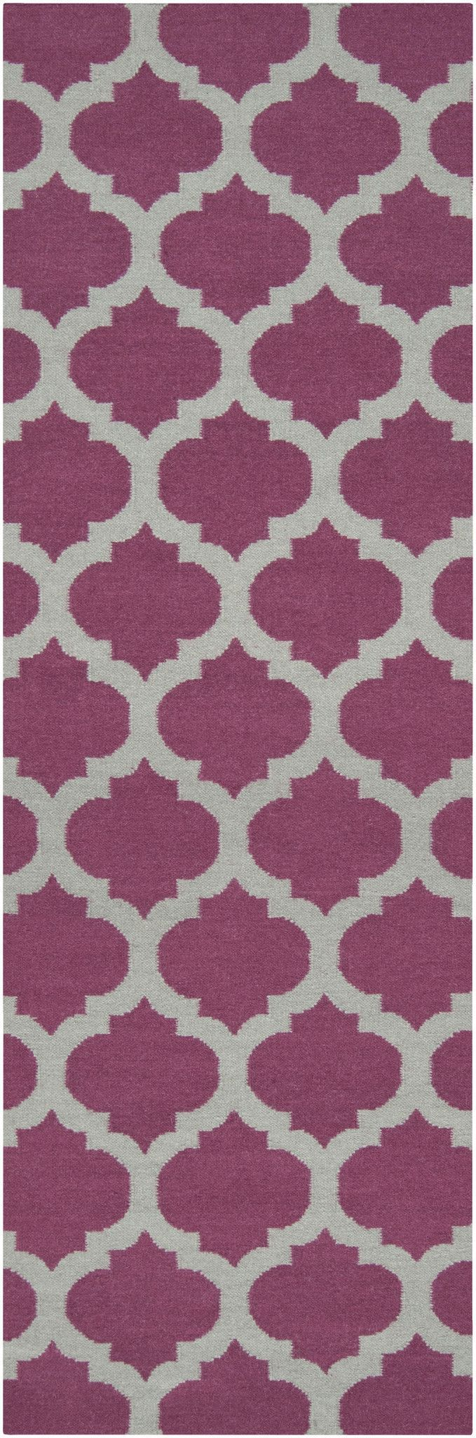 Surya FT115 Frontier Purple Runner Area Rug