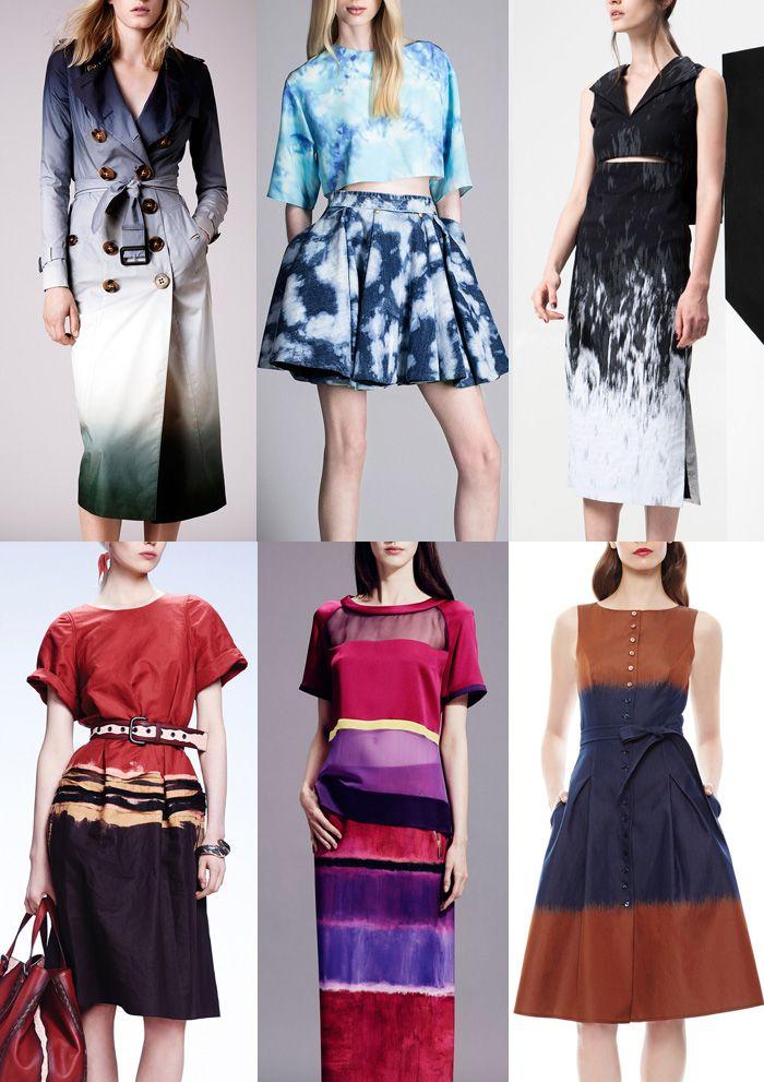 Resort 2015 Catwalk Print Pattern Trend Highlights Burberry Prorsum / Fausto Puglisi / ADEAM / Bottega Veneta / Alberta Feretti / Carolina Herrera