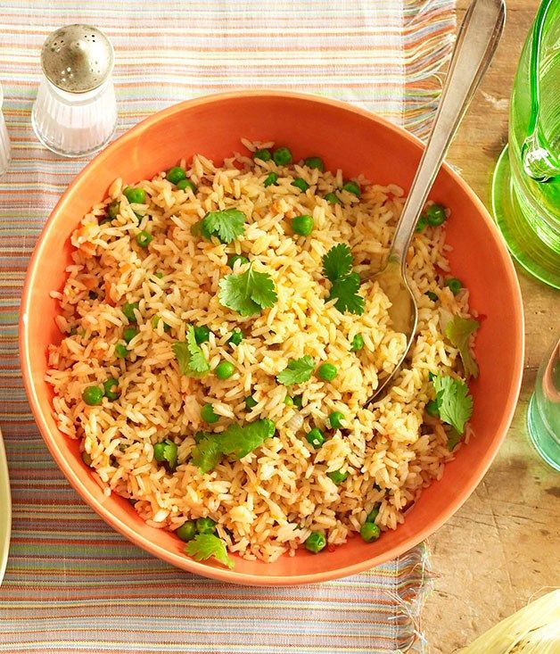 Mexican red rice :: Gourmet Traveller