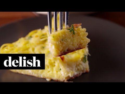 Best Spaghetti Frittata Recipe - Delish.com