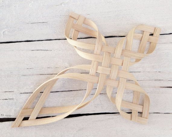 Woven Cross PDF digital instructions directions tutorial basket weaving instant download on Etsy, $6.25