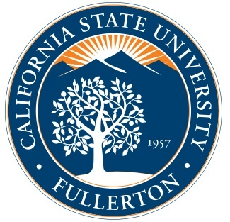 This is the seal of the California State University. http://www.payscale.com/research/US/School=California_State_University_-_Fullerton_(CSUF)/Salary