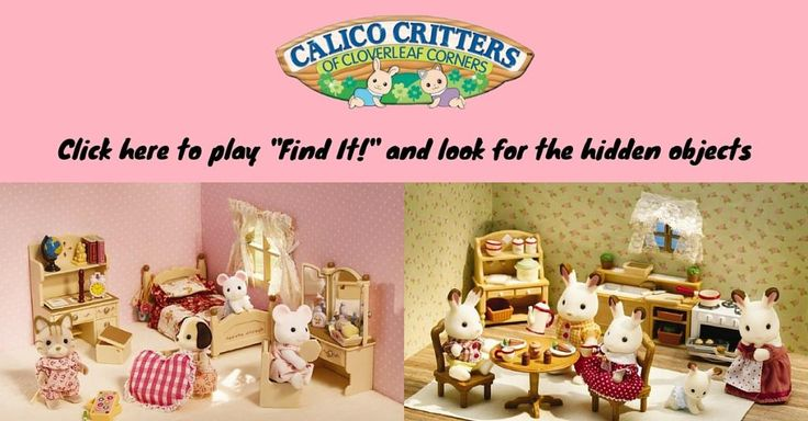 8 best Calico Critters Sweepstakes images on Pinterest | Back to ...