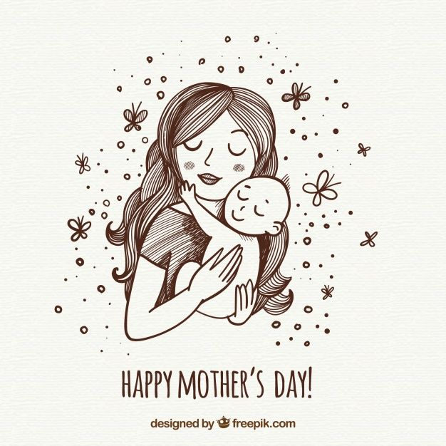 Download Mother S Day Background With Happy Family For Free Mothers Day Drawings Mother S Day Background Happy Mother S Day
