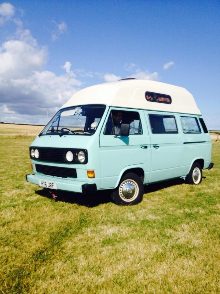Lovely Light Blue Hi Top Vw Pinterest Vw Bus