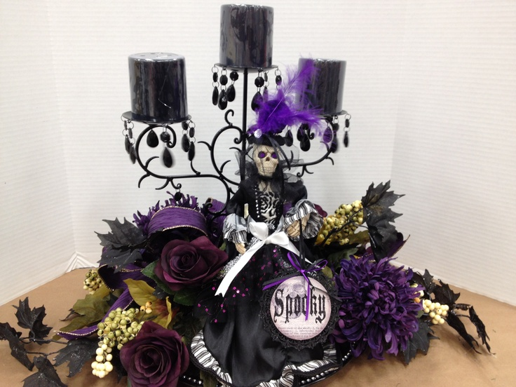 57 cool purple halloween dcor ideas purple halloween dcor with white wall wooden table black purple candleholder flower ornament