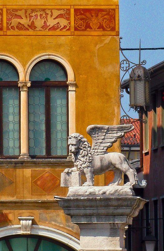 The Lion of San Marco in Bassano, Bassano del Grappa, Vicenza Copyright: Letizia Falini