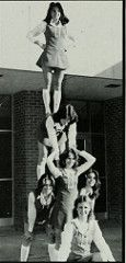 Vestavia Hills Alabama High School 1978 Cheerleaders (texasretrocheer2) Tags: white socks high shoes cheerleaders alabama cheerleader knee saddle kneesocks saddleshoes kneesox whitekneesocks