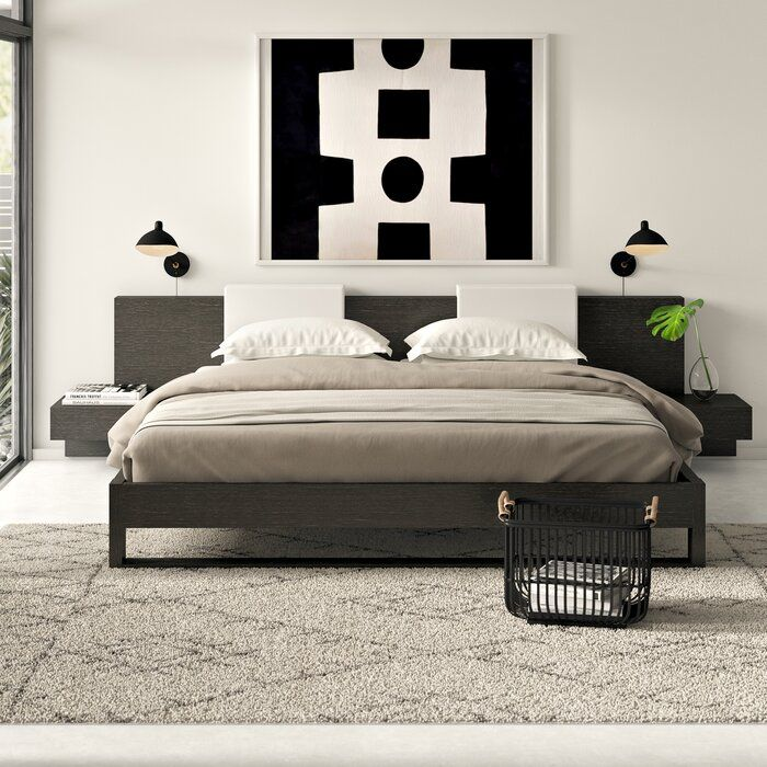 Dartford Storage Platform Bed Platform Bed Modern Bedroom