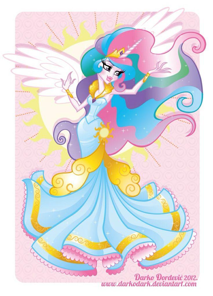 Mlp princess celestia my little pony pinterest princesses princess celestia and mlp - Princesse poney ...