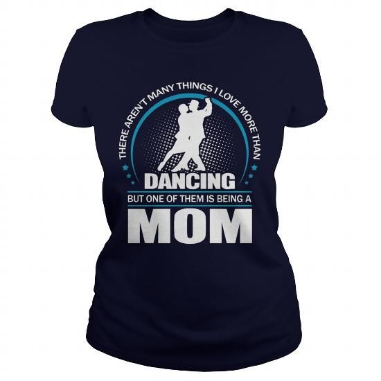 Awesome Tee DANCING MOM - Mother's day T-Shirt Shirts & Tees