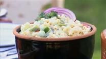 spring sweet pea pasta salad - Had this for supper It was great