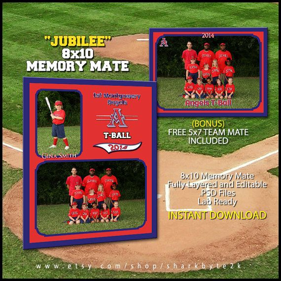 124 best images about photoshop templates designs on pinterest collage template football for Baseball card back template