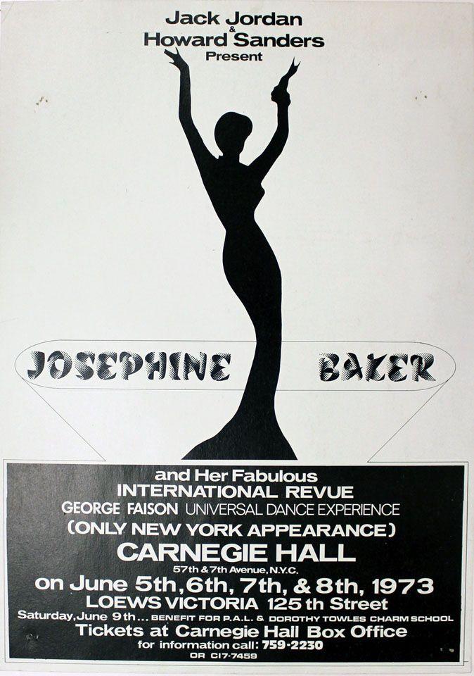 201 best images about JOSÉPHINE BAKER: posters & ephemera ...