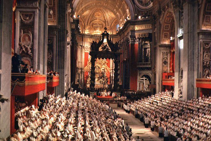 Papst Benedikt XVI. zum 50. Jahrestag des Beginns des II. Vatikanums