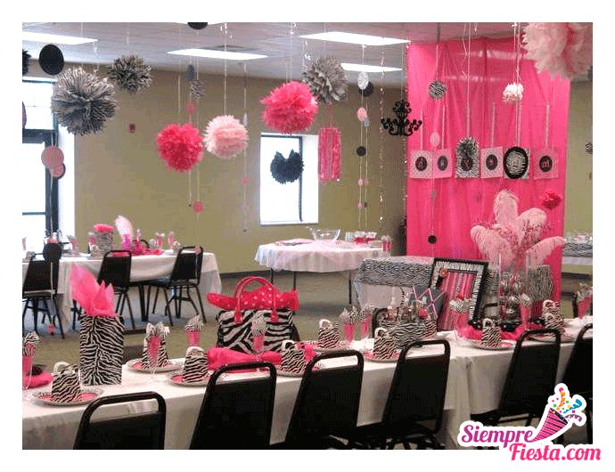 29 best images about fiesta de zebra print on pinterest - Decoracion de cumpleanos adultos ...