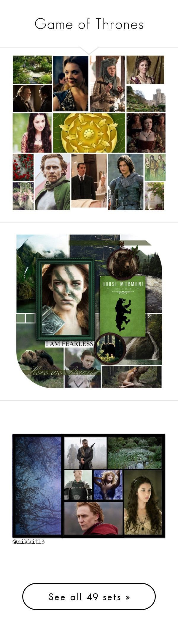 """Game of Thrones"" by danicathorne on Polyvore featuring arte, bridget regan, game of thrones, a song of ice and fire, dacey mormont, Envi, interior, interiors, interior design e Casa"