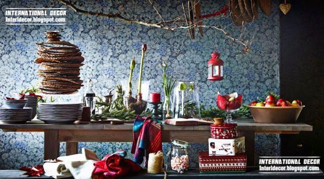 IKEA Christmas decorations 2015 and furnishings, Christmas 2015