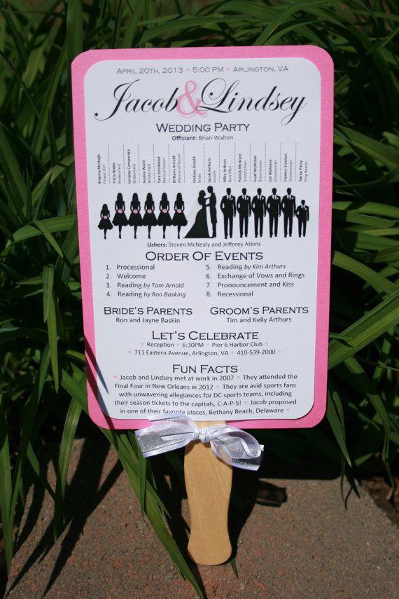 17 Best Ideas About Wedding Program Samples On Pinterest