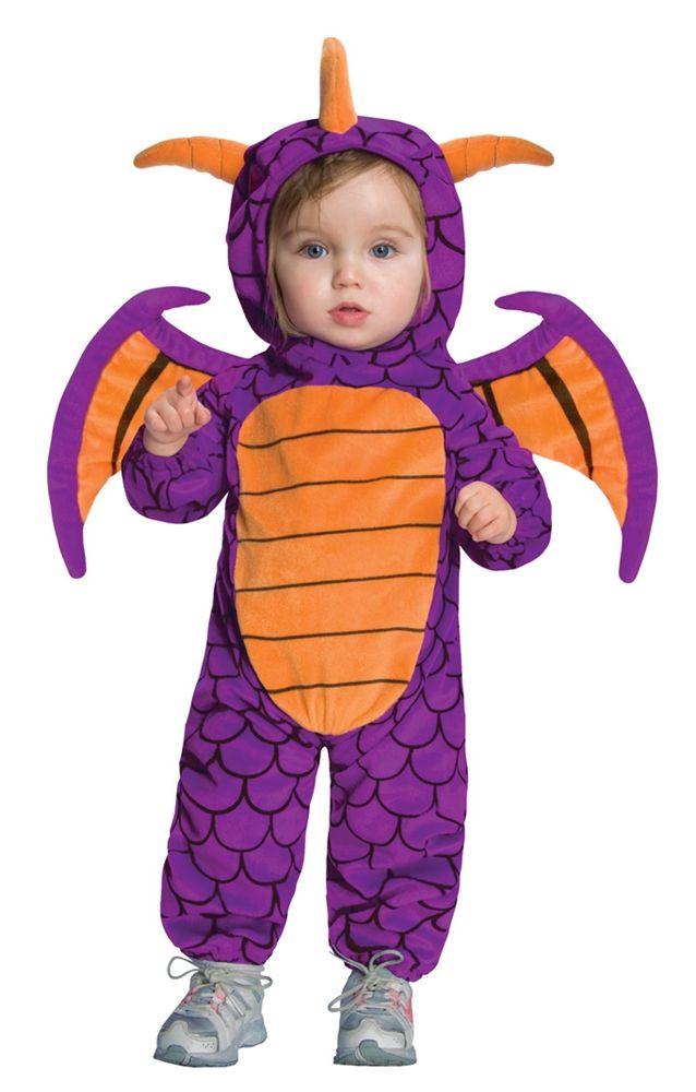 skylanders spyro ez on romper infant toddler costume - Dragon Toddler Halloween Costume