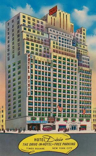 #NYC Hotel Dixie - New York, New York