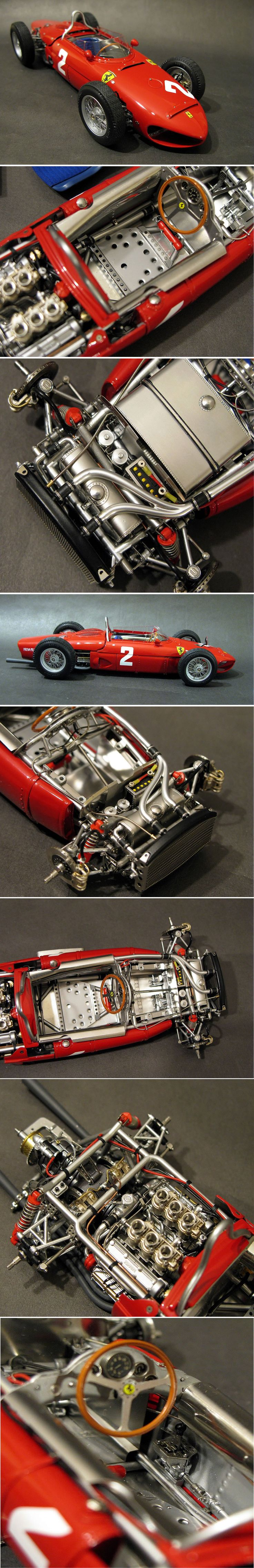 The best model cars of the World - Exoto Ferrari Tipo 156 F1 Sharknose, 1:18…