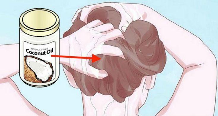 Как использовать кокосовое масло, чтобы избавить ваши волосы от седины, истончения или выпадения! Обязательно попробуйте! | Женские темы