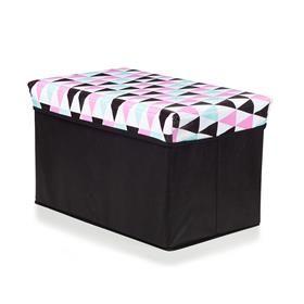 Pink Collapsible Storage Box