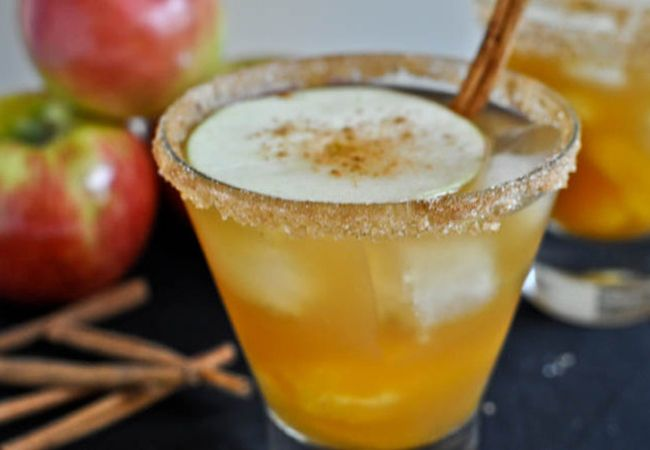 Apple Cider Margarita  For a fiesta wedding set in the fall, here's a tequila-based cider drink that will get everyone on the dance floor.
