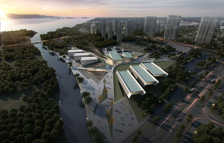 Gallery of Yangzhou Li Ning Sports Park / Australia PT Design Consultants Limited - 23