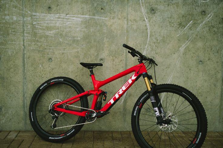 Trek MTB in beautiful red color