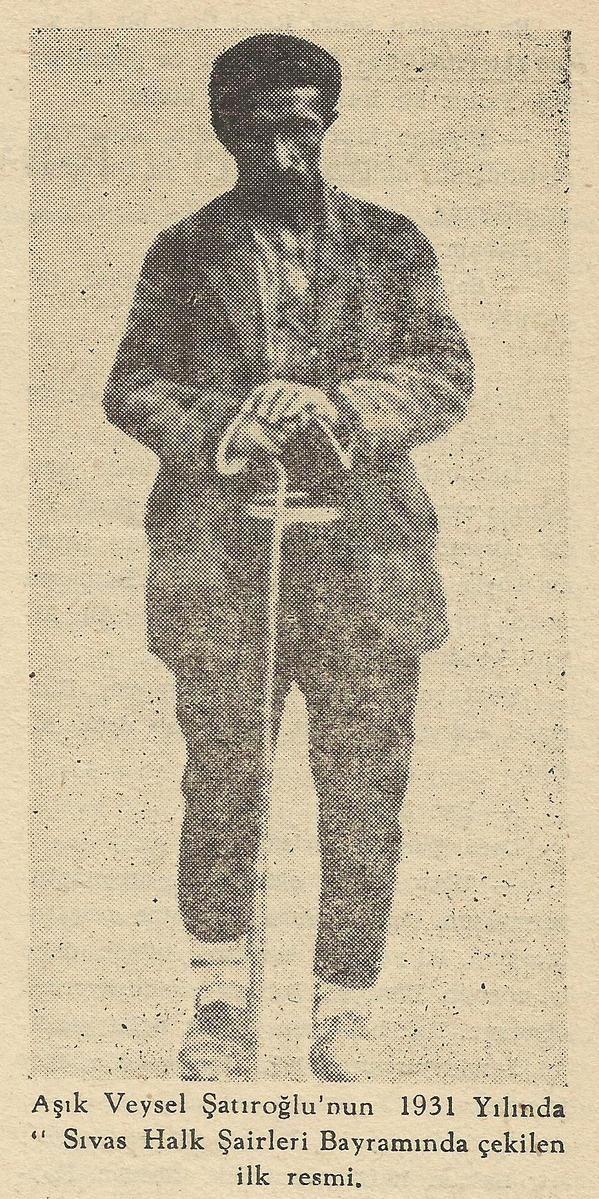 Aşık Veysel, 1931