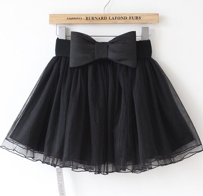 Lace Bow Skirt