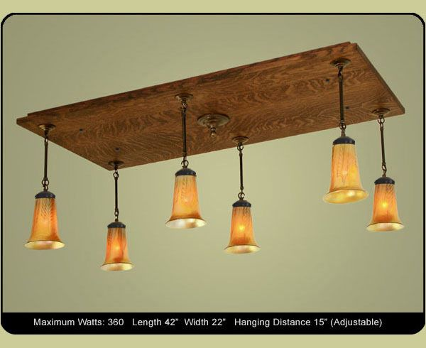 Rectangle Pendant Dining Room Chandelier Handmade In The USA Customize Your Light Fixture By Selecting From