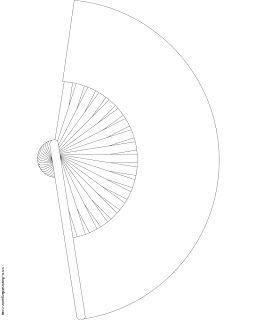 folding fan to color