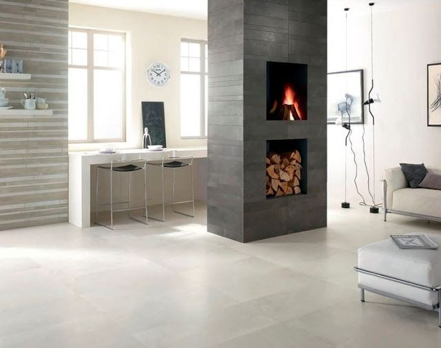 Il pavimento in gres porcellanato rettificato effetto resina ideale per ambienti in stile moderno, contemporaneo, industrial, urban chic