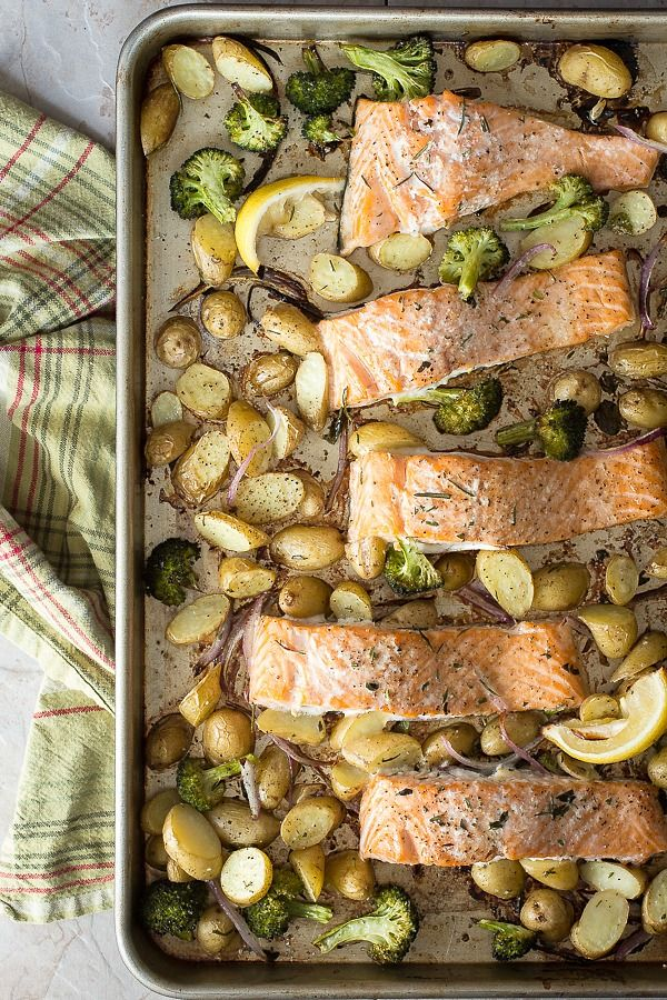 Easy Oven Baked Salmon - Foodness Gracious