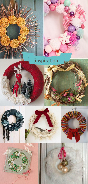MolineMercerieDIYcouronnedeNoel Diy crafts, Crafts