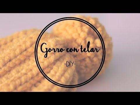 DIY Gorro con telar | YasminaDiego - YouTube
