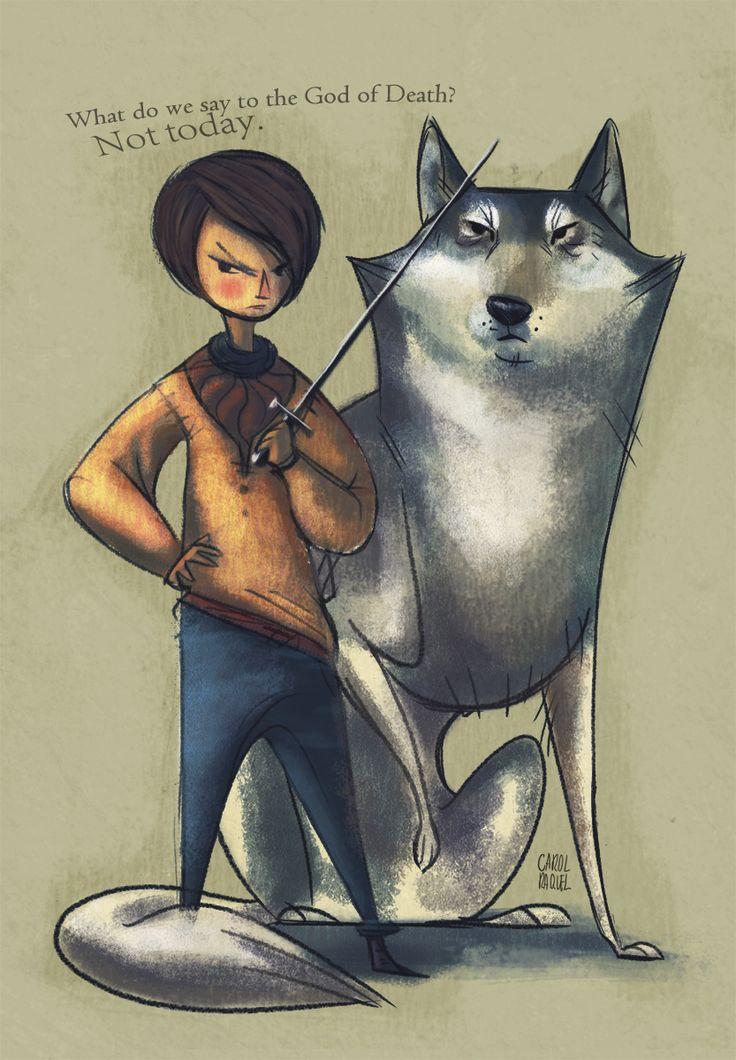 Man I love Arya.: Geek, Little Girls, Games Of Thrones Arya Stark, Illustration, Book, Today, Gilmore Girls, Fans Art, Game Of Thrones