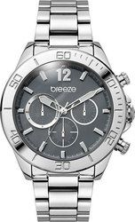 Breeze Trinity Lux Stainless Steel Bracelet Chrono 610291.2