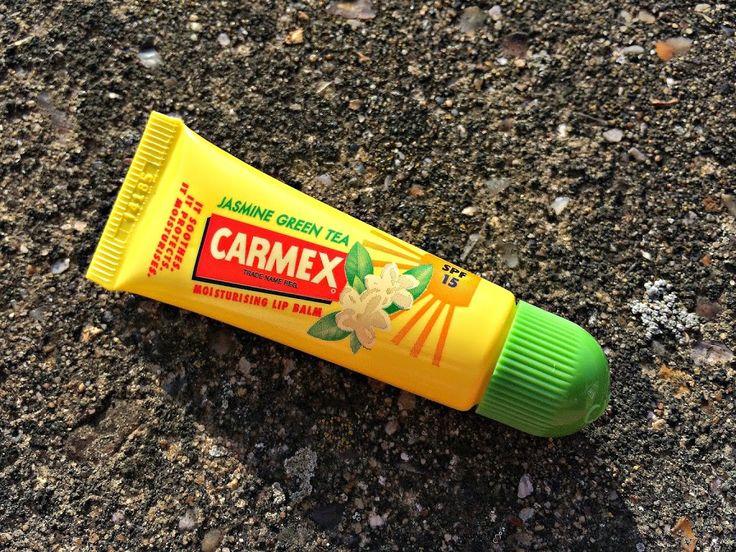 Carmex Jasmine Green Tea flavoured balm.