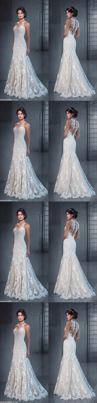 Wedding Dresses: 2016 White Ivory Wedding Dress Bridal Gown Stock Custom Size 4 6 8 10 12 14 16++ -> BUY IT NOW ONLY: $99 on eBay!