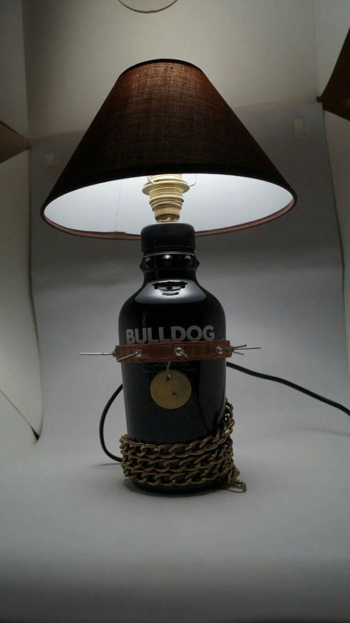 #bulldog #gin #light #handmade #decoration