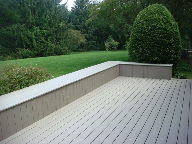 64 best images about exterior homes on pinterest outdoor for Grey composite decking