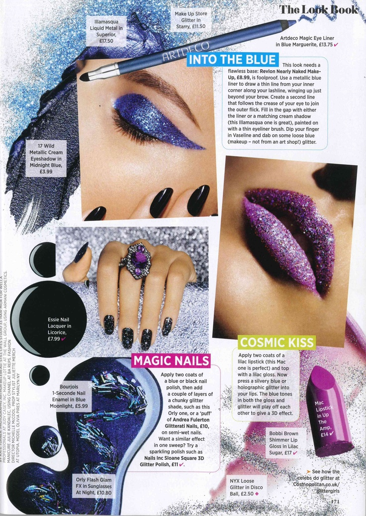 Make Up Store featured in Cosmopolitan (April 2013)