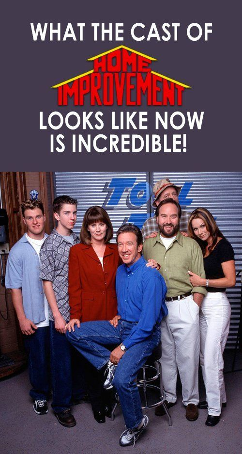 What The Cast Of Home Improvement Looks Like Now Is Incredible! #homeimprovementaugh,