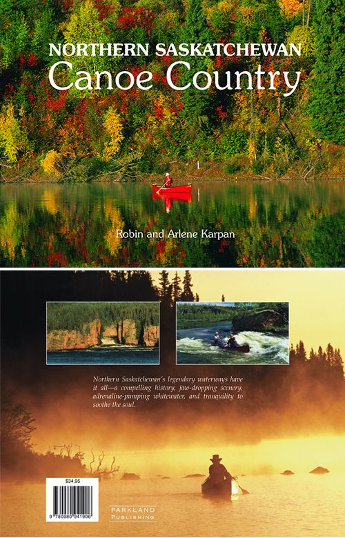 Ranked among the world's great canoeing destinations, northern Saskatchewan's legendary waterways have it all - compelling history, jaw-dropping scenery, adrenaline-pumping whitewater, and tranquility to soothe the soul. This hardcover coffee-table book features 230 stunning photographs of the wilderness, with stories of the rich history, diverse landscapes, and canoeing adventures. Winner Saskatchewan Tourism Award of Excellence.