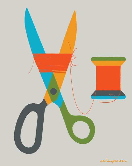 Adrian Johnson Studio Ltd. > Work Scissors and Thread
